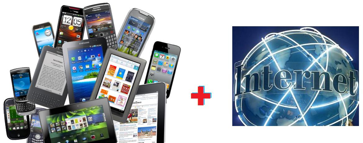 mobile device and web format conversion